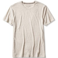 Banana Republic Mens Soft Wash Heathered Crew