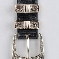 Plus Lola Metal Tipped Western Belt