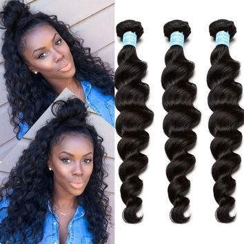 8A Peruvian Virgin Hair loose Wave