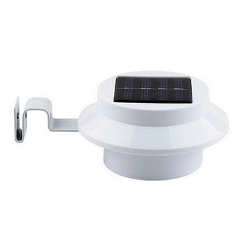 LED Solar Light Outdoor Waterproof Garden Decoration Landscape Lawn Solar Power Panel 3 LED Fence Gutter Wall Solar Power Lamps