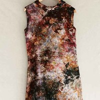 Rough And Tumble Rust Brocade Shift Dress- Assorted One