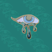 """Teary Eyed"" Pin"