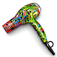 amika - Power Cloud Force Graffiti-Print Hair Dryer - Saks Fifth Avenue Mobile