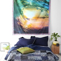Plum & Bow Rainbow Wave Tapestry - Urban Outfitters