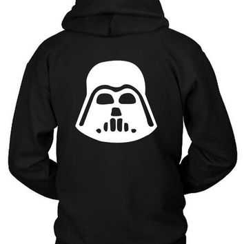 ESBH9S Star Wars Character Darth Vader Hoodie Two Sided