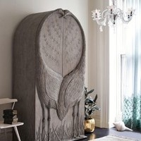 Land & Sky Armoire by Anthropologie in Natural Size: One Size Furniture