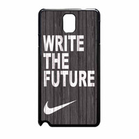 Nike Future On Wood Gray Samsung Galaxy Note 3 Case