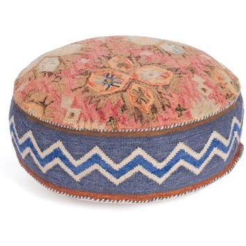 Florence Kilim Round Floor Pillow