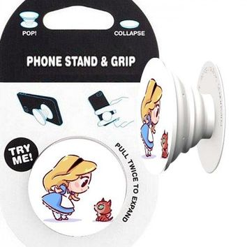 Alice in Wonderland Phone Stand & Grip