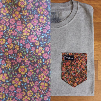 Renna's Floral - Paige's Pocket Tee