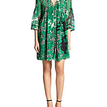 Diane von Furstenberg - Layla Silk Dress - Saks Fifth Avenue Mobile