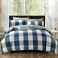 New Stripes And Lattices Bedding Sets Brief Coverlet Quilt Duvet Cover Sheet Pillowcases Single Double Queen King Size Sale