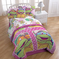 Nickelodeon Teenage Mutant Ninja Turtles Shell Tastic Sheet Set, Full