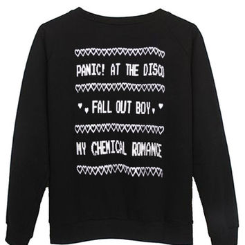 panic at the disco sweatshirt