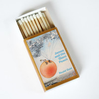 James and the Giant Peach - Book Covered Matchbox - Roald Dahl - Paper Art - Unique Gift - Light a Literary Spark
