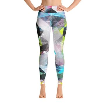 YOGA ART LEGGINGS W/ Raised Waistband - BEYOND