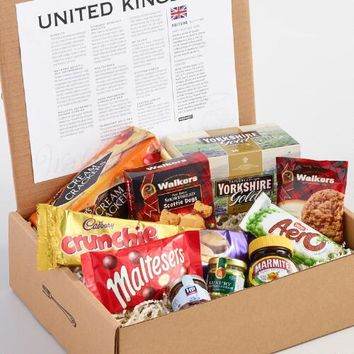 World Tastes United Kingdom Gift Box
