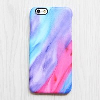 Pastel Watercolor Silk iPhone 6s Plus SE Case iPhone 5s Case Galaxy S7 Edge Plus Case 083