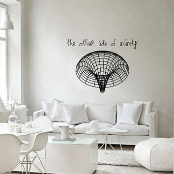 Science art astronomy - Black Hole vinyl wall decal for your lab & Best Science Decorations For Classroom Products on Wanelo