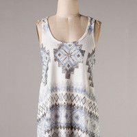 Zolin Aztec Tank Top