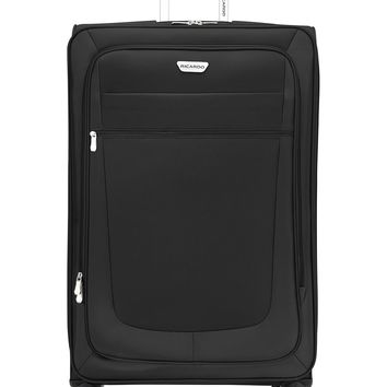 "$360 New Ricardo Oceanside 30"" Expandable Spinner Wheels Suitcase Luggage Black"