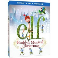 Elf: Buddy's Musical Christmas (Blu-ray + DVD + Digital HD With Ultraviolet) - Walmart.com
