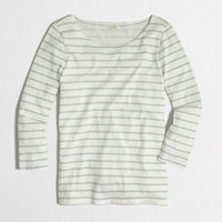 FACTORY STRIPED KNIT TOP