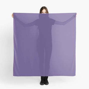 'Ultra Violet Pantone' Scarf by Space & Lines
