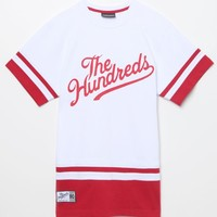 The Hundreds Diego Short Sleeve Jersey - Mens Tee - Red