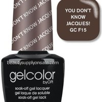 O.P.I Gelcolor Collection Nail Gel Lacquer, You Don't Know Jacques, 0.5 Fluid Ounce | AihaZone Store