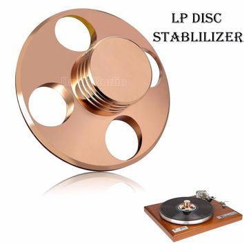 Music Hall LP Vinyl Turntables Metal Disc Stabilizer Record Weight/Clamp HiFi