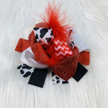 RTS Furry Cowgirl Bow