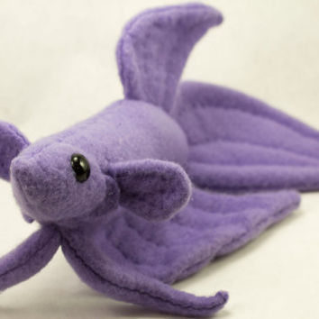 Betta Fish Plush Purple Veil Tail From Beezeeart My Products