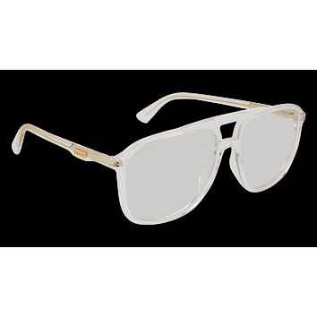 Gucci - GG0262S Crystal Sunglasses / Transparent Lenses