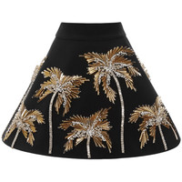 Embroidered Cady Skirt by Fausto Puglisi - Moda Operandi