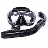 Professional Scuba Diving Mask Diving Snorkel Set Whale Brand For Adults Swimming Mask Top Quality Guarantee Scuba Diving Gear