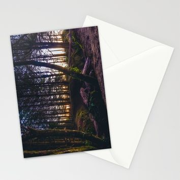 Wooded Tofino Stationery Cards by Mixed Imagery