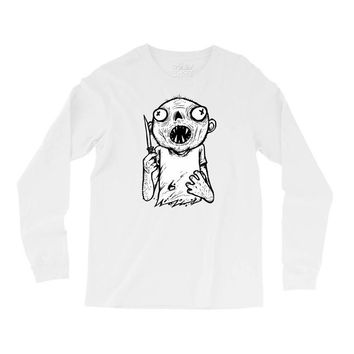 zombie knife Long Sleeve Shirts