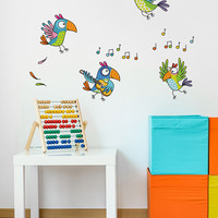 ADzif Parrots Wall Art