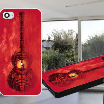Musical Sunset Case for iPhone 4,iPhone 4S,iPhone 5,iPhone 5S,iPhone 5C,Samsung Galaxy S2 / S3 / S4