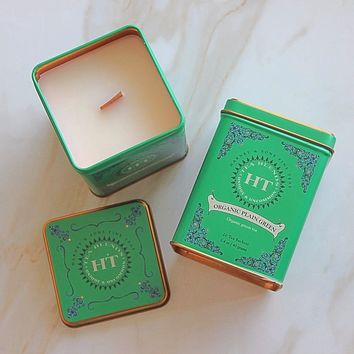 Vintage Green Tea Tin Candle