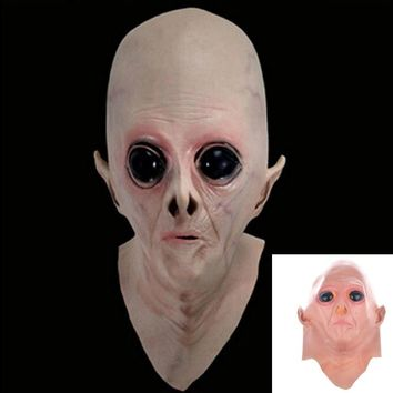 Anglai_sh-Silicone Face Mask Alien - Free Shipping