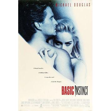 Basic Instinct poster 16 inches x 24 inches