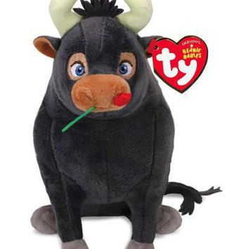 TY Beanie Boos Ferdinand bull and three other sets of plush toys