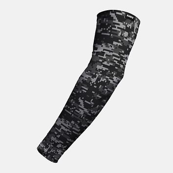 Digital Camo Charcoal Arm Sleeve