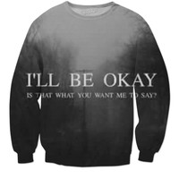 Some What Depressing Sweater