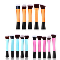 2016 new arrive Professional Fibre Cosmetic Makeup Tool Eyeshadow Powder Blush Brush Set free shipping