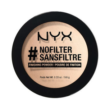 #NoFilter Finishing Powder | NYX Cosmetics