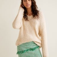 Tweed skirt - Women | MANGO United Kingdom
