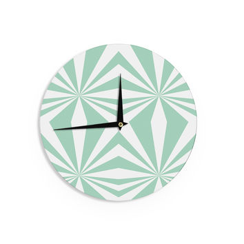 "Project M ""Starburst Mint"" Wall Clock"